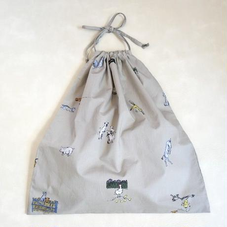 R&D.M.Co- FARMERS FAMILY DRAWSTRING BAG L