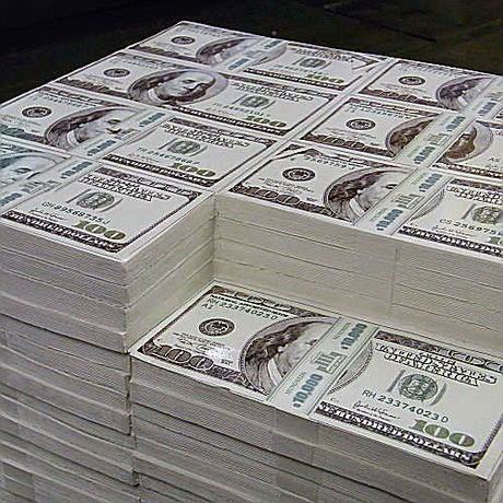 300万ドル札のイス