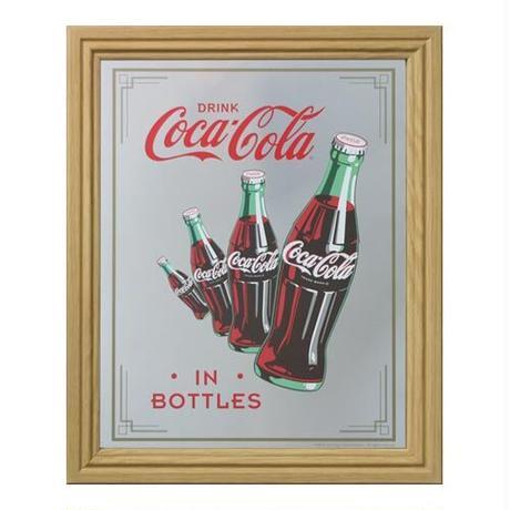 COKE パブミラー(Bottle)