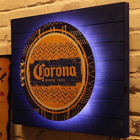 バックリット LED プランク サイン CORONA