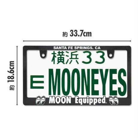 3D MOON Equipped ロゴ ライセンスフレーム for JPN サイズ