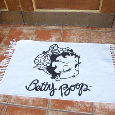 【Betty Boop】コットンマット【ロング】