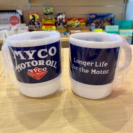 【ファイヤーキング風】ミルキースタッキングマグカップ【¥638】
