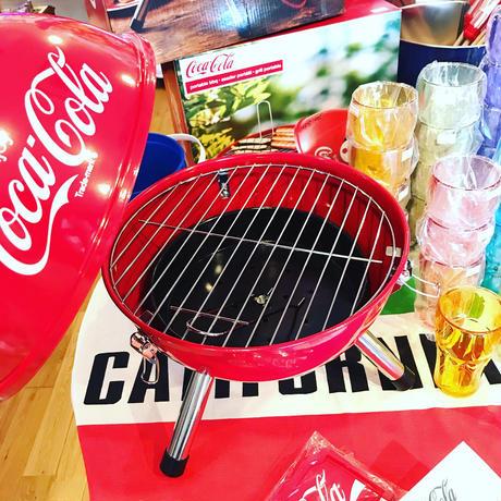 コカコーラ 12インチ バーベキュー グリル コンロ COCA-COLA 2〜3人用