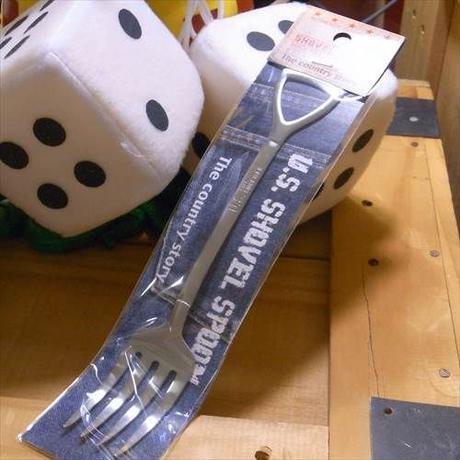 【USサイズ】シャベル型スプーン&フォーク