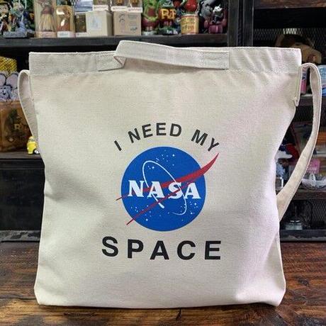 【特価品】NASA公認2ウェイショルダーバッグ(ホワイト)/インサイニア(ミートボール)
