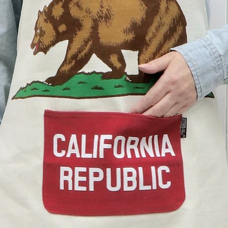 コットンエプロン(California Republic)