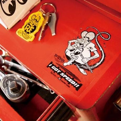 Rat Fink x MOON Equipped Cam ステッカー