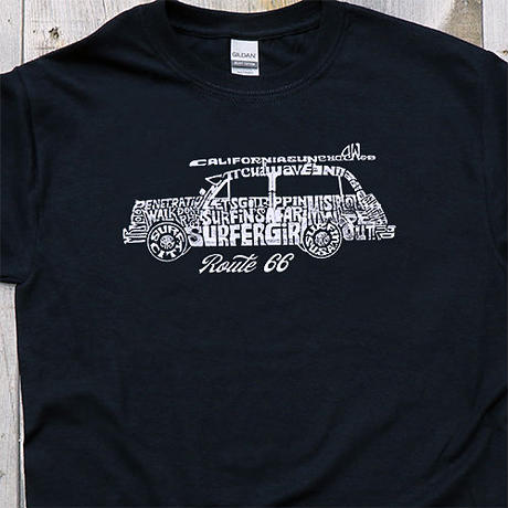 Tシャツ RT.66 Woody Car