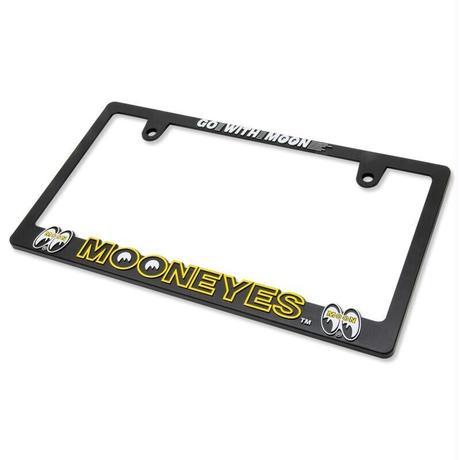 3D MOONEYES ロゴ ライセンスフレーム for JPN サイズ
