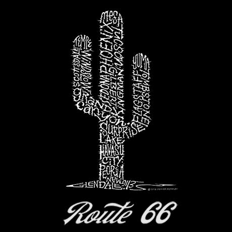 Tシャツ RT.66 Arizona Cactus