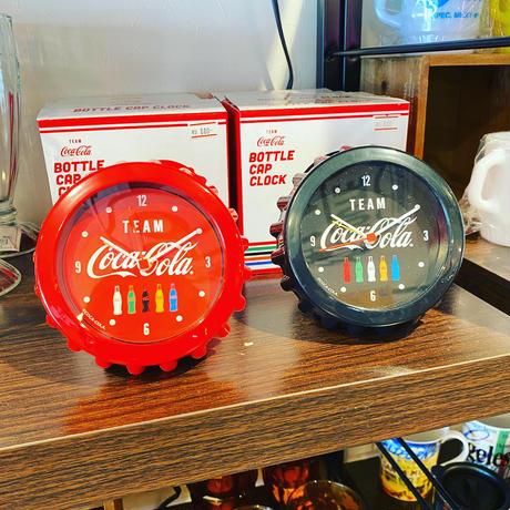 TEAM Coca-Cola Bottle Cap Clock