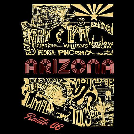 Tシャツ RT.66 Arizona Pictures