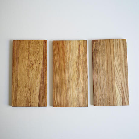 木のプレート(長方形M)