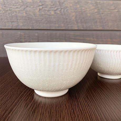 笠間焼 / ご飯茶わん(飛び鉋・大)