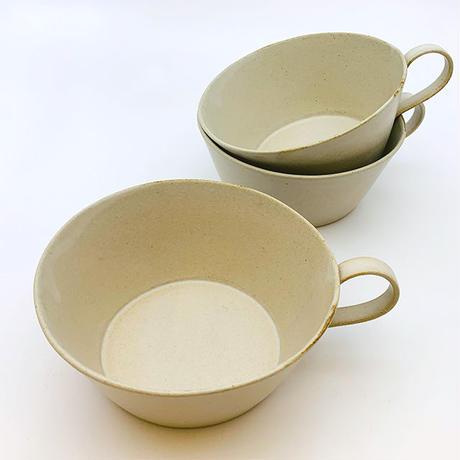 笠間焼 / うすくて軽いスープカップ