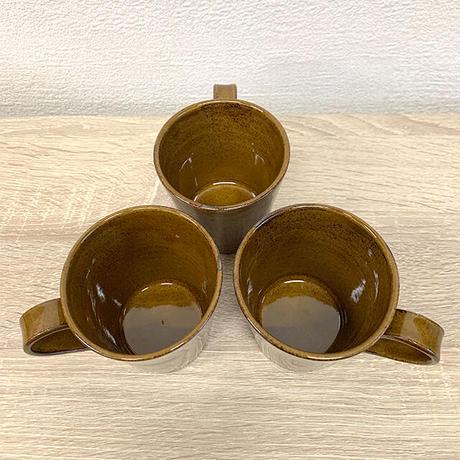 笠間焼 / うすくて軽いマグカップ(飴釉)