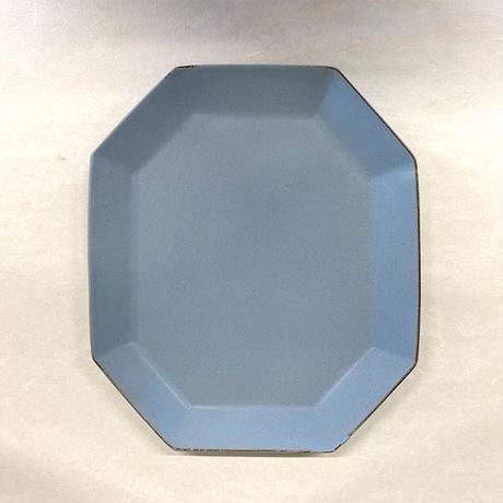 笠間焼 / うすくて軽いオクタンプレートワイド(L)
