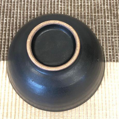 笠間焼 / ご飯茶わん(黒釉・特小)