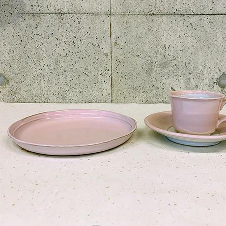 笠間焼 / うすくて軽い丸皿(L)