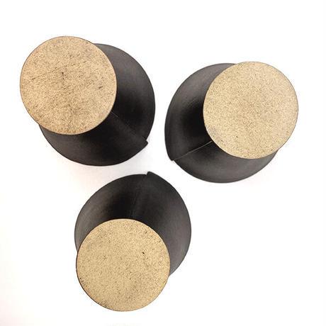 笠間焼 / うすくて軽いタタラタンブラー(黒茶)