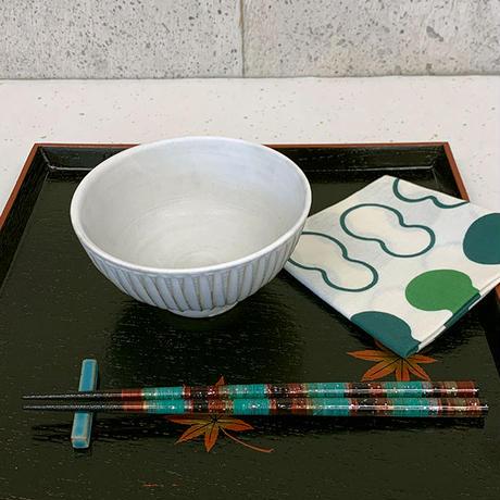 笠間焼 / ご飯茶わん(しのぎ)