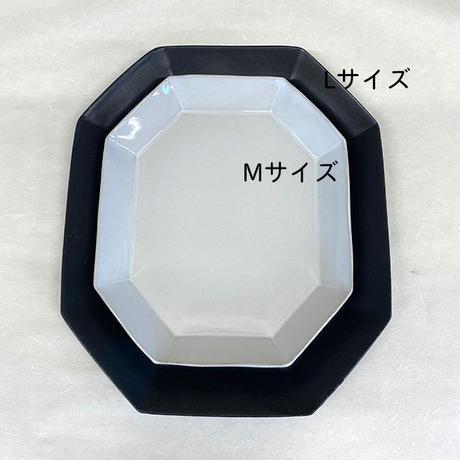 笠間焼 / うすくて軽いオクタンプレートワイド(M)