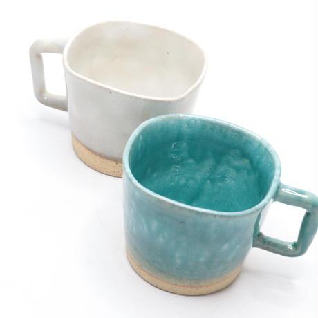 マグカップ 陶器 おしゃれ 粉引きマグ コーヒーカップ 美濃焼 クラウドマグ