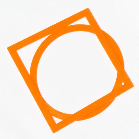 アクリルブレス(Circle+Square)