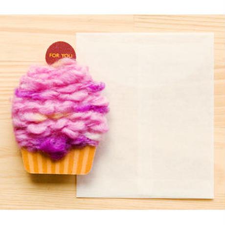【ZA108】くるくるカップケーキカード