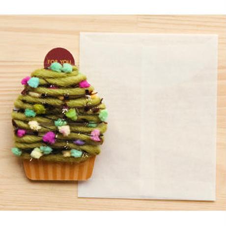 【ZA107】くるくるカップケーキカード