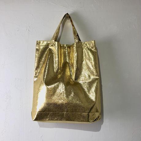 BINDUシャイニートートバッグ ゴールド