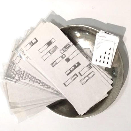 [kuwagata]封筒1枚+短冊2枚セット