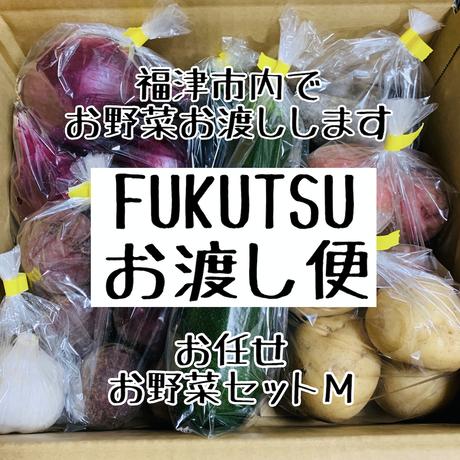 FUKUTSUお渡し便【お任せお野菜Mセット】(約3,4人前分)