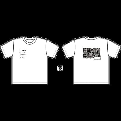 ゼロコ「図書館」Tシャツ