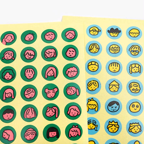 FACE STICKERS | Sticker
