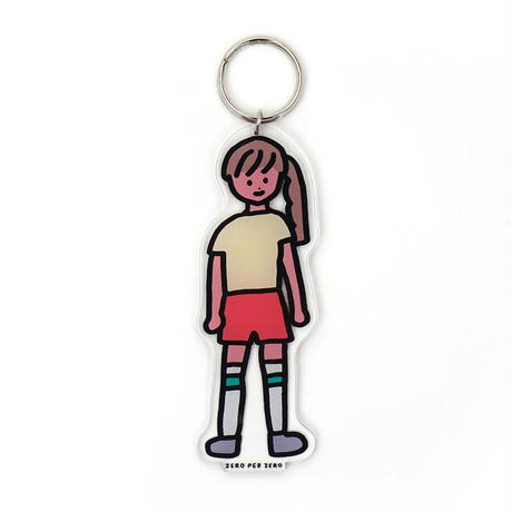 WOMAN 2 [L] | Stand Up Keyring