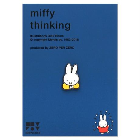 MIFFY THINKING | Miffy Pin