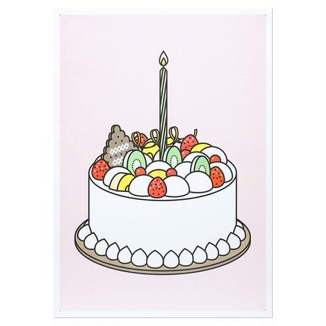 CREAM CAKE2   A3 RISO poster(受注生産商品)