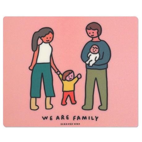 FAMILY OF FOUR | Mouse pad