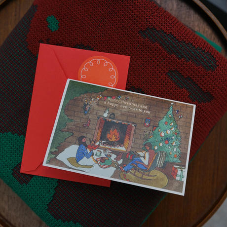FIRE PLACE | Christmas card