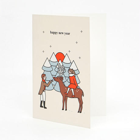 BOY and GIRL | Christmas card