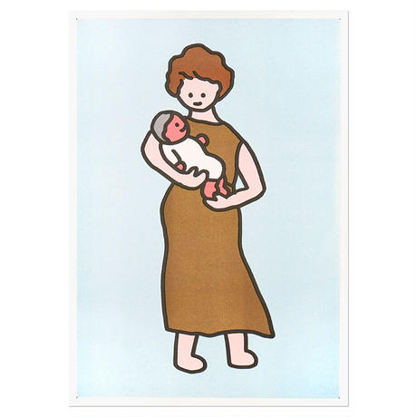 GRANDMOTHER   A3 RISO poster(受注生産商品)