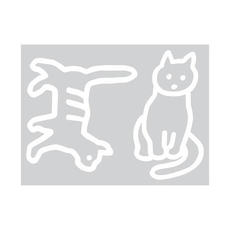 CAT   Contact Paper Sticker