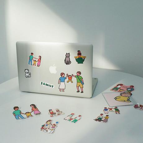 STICKER PACK-FAMILY   Sticker