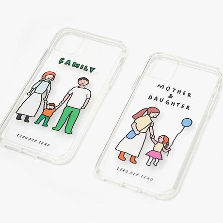 PHONE CASE (JELLY CASE) - FAMILY/COUPLE series / for iPhone 12(受注生産商品)