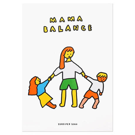MAMA BALANCE | A3 RISO poster(受注生産商品)