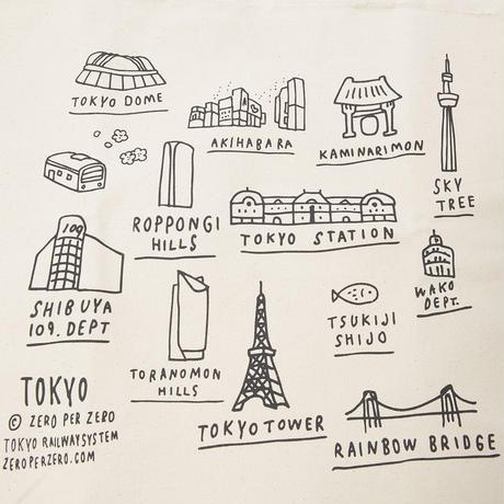TOKYO landmark | Tote bag
