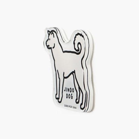 JINDO DOG   Magnet
