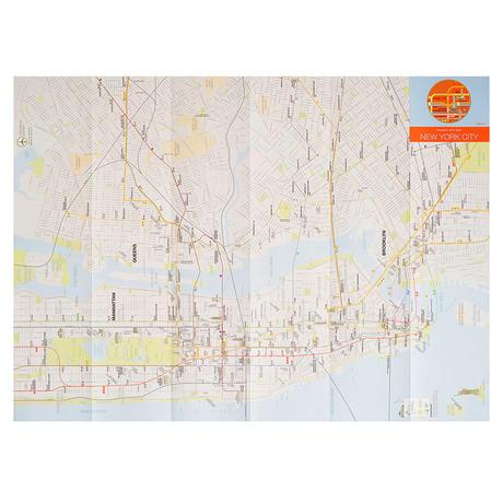 NYC (orange) | City map